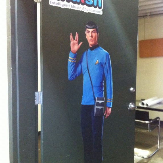 Khush Custom Wall Graphics – Plus SPOCK!