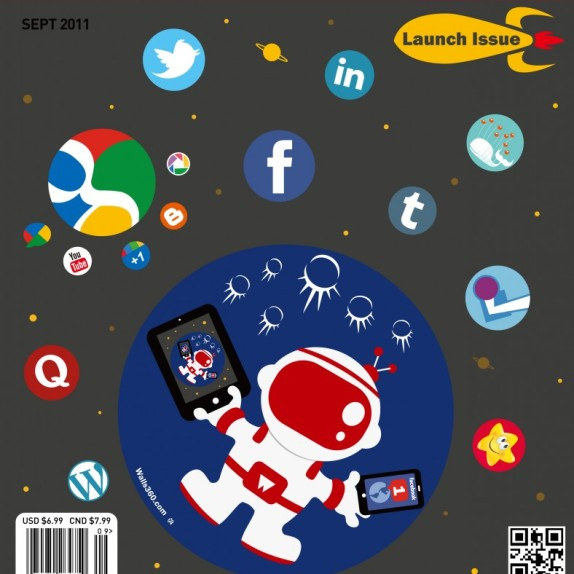Yiying Lu: Social Media Monthly Cover Designs!