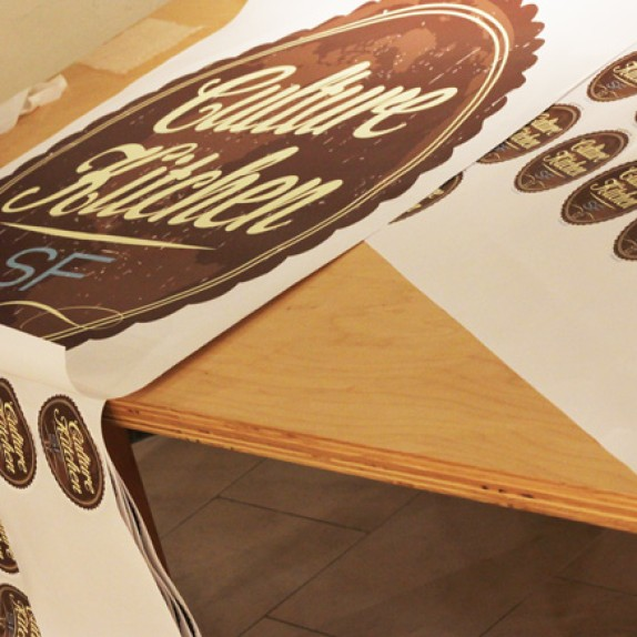 Custom Wall Graphics for Culture Kitchen!