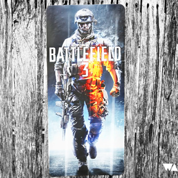 Battlefield 3 Wall Graphics from WALLS 360?