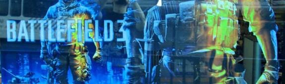 BATTLEFIELD 3 repositionable wall graphics from WALLS 360 @ Forbidden Planet!