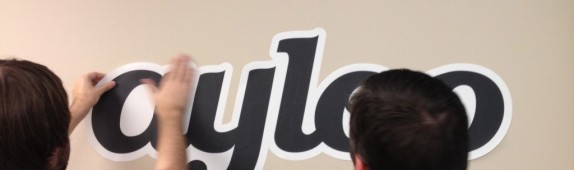 Custom Wall Graphics for Las Vegas Startup Ayloo!