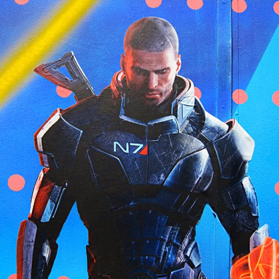 Mass Effect 3 Graphics: Now Available for Real-World Walls!