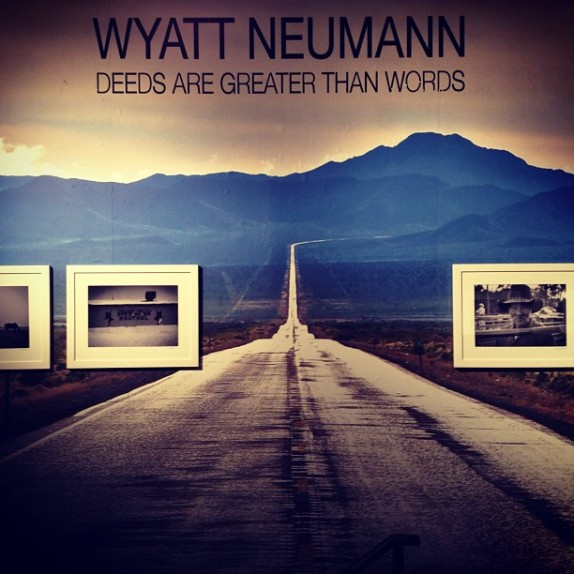 Custom Panoramic Wall Murals for Wyatt Neumann at Gallery Bar NYC