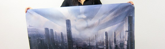Mass Effect 3 wall graphics from WALLS 360!