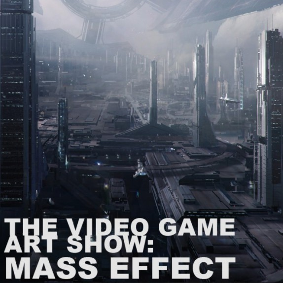 MASS EFFECT Art Exhibition Opens in San Francisco During the 2012 Game Developers Conference