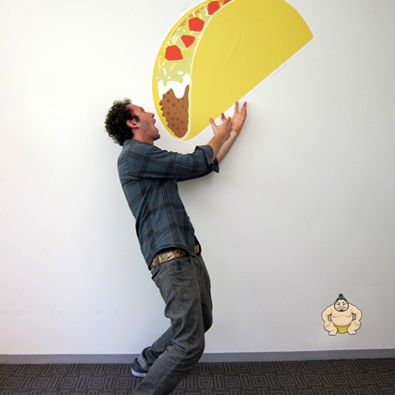 SXSW 2012: Custom Wall Graphics for AppSumo!
