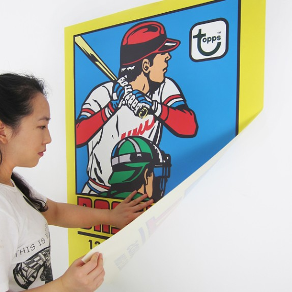 @YiyingLu x New Topps Wall Graphics!