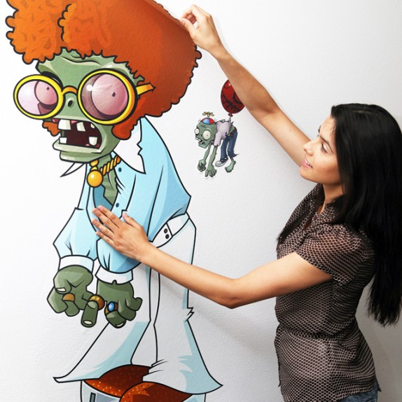 Preview: Plants vs. Zombies Wall Graphics on Fab.com
