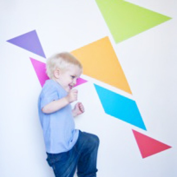 Wall Tangrams in Sydney!
