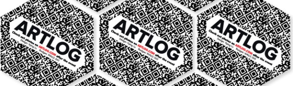 ARTLOG: Custom Wall Graphics + QR Badges