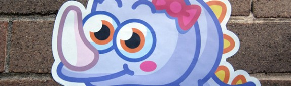 Moshi Monsters Wall Graphics from WALLS 360!