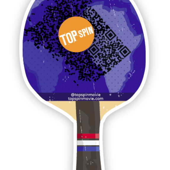 Custom Wall Graphics for the TopSpin Silicon Valley Kickstarter Fundraiser!