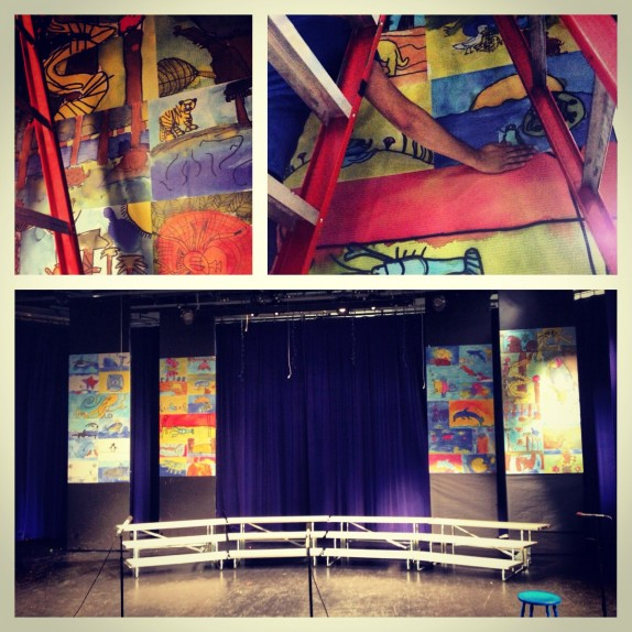 Custom Wall Graphics for Gilbert Magnet Elementary School for Communication & Creative Arts in Las Vegas!