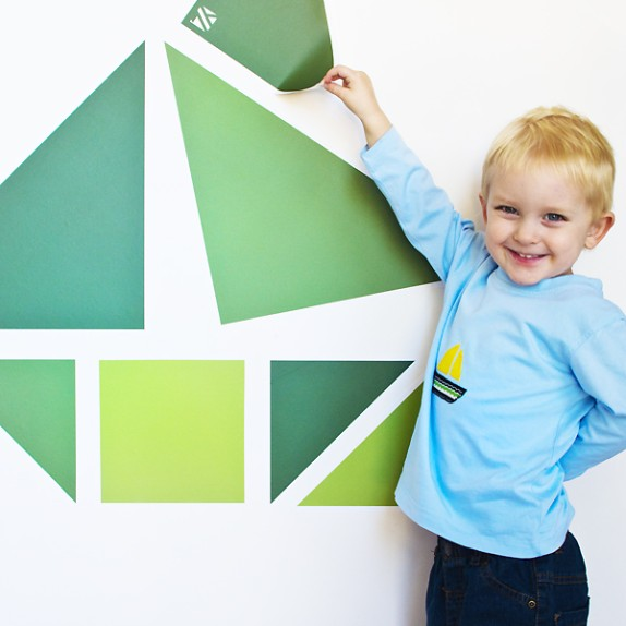 Wall Tangrams: 100 Free Special Sets for Teachers + Classrooms Globally!