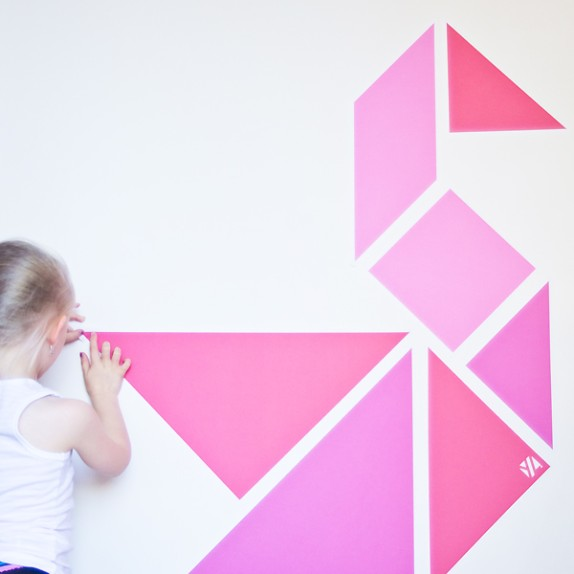 WALL TANGRAMS from WALLS 360: Summertime Special Sets!