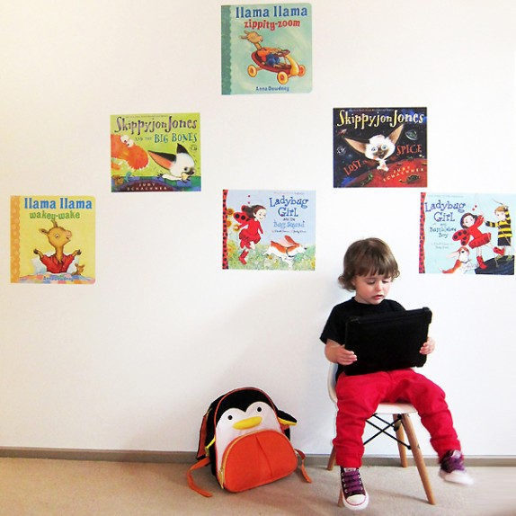 Penguin Picture Book Wall Graphics!