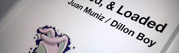 Custom Wall Graphics + Step & Repeat Logo Wall for Juan Muniz + Dillon Boy Las Vegas Exhibition!