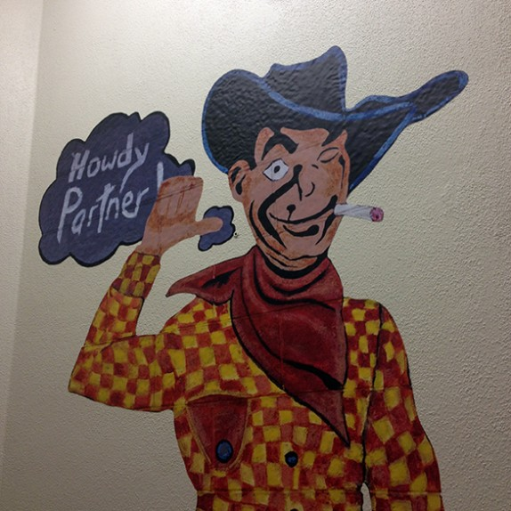 Custom Wall Graphics: Vegas Vernacular Project x Zappos!