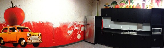 MORE custom wall murals for the Switch InNEVation center in Las Vegas!