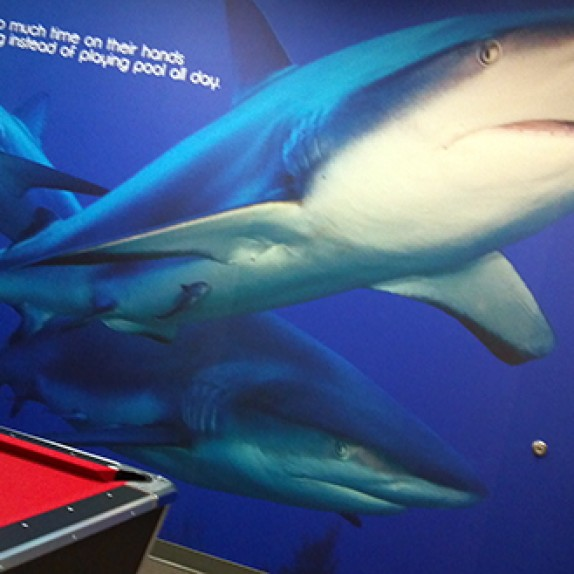 INNEVATE VEGAS: Wall-to-Wall Custom Wall Murals for the Switch InNEVation Center in Las Vegas!