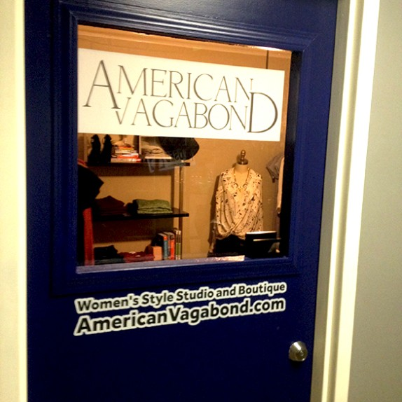 Custom Wall Graphics for American Vagabond at Emergency Arts, Downtown Las Vegas!