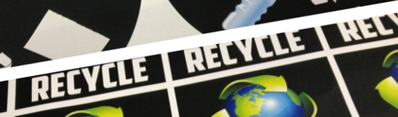 On-Demand & Reusable Recycling Graphics for First Friday Las Vegas!