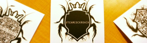 On-Demand Promotional Graphics for the Cockroach Theater, Downtown Las Vegas!  #TeamCockroach