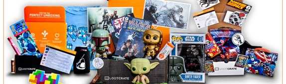 On-Demand Mini Wall Graphics for Loot Crate!