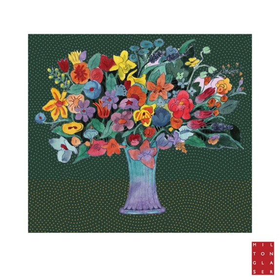 Milton Glaser Wall Flowers Launch Today!