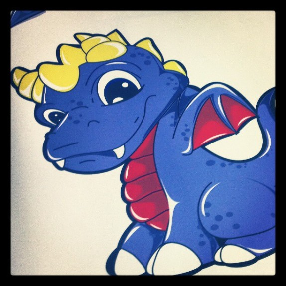 Juan Muniz x Doral Dragons Wall Graphics!