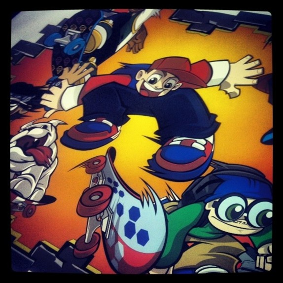 Wild Grinders Wall Graphics!