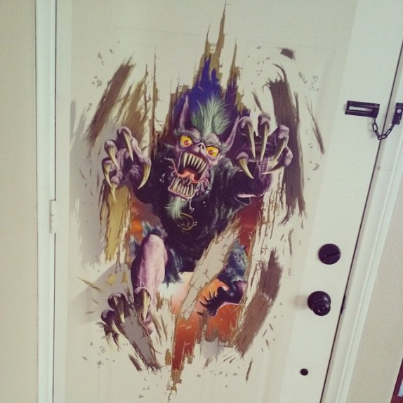 Holiday Special: Exclusive Derek Riggs Door Monster Wall Graphics!