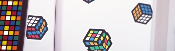Walls360 Launches Rubik's Cube Re-Positionable Wall Graphics Collection!