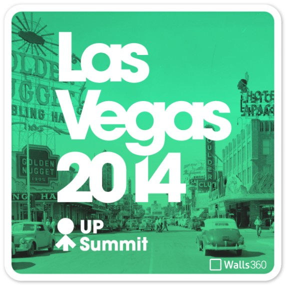 Custom Walls360 Wall-to-Wall Graphics for the UP Global #UpSummit in Las Vegas!