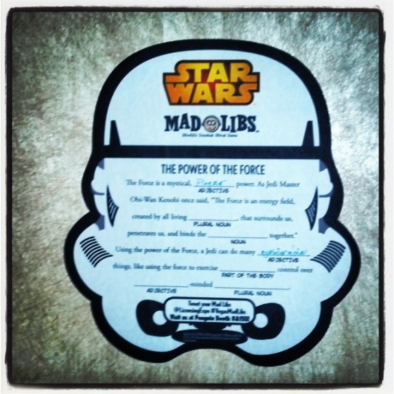 Custom Mad Libs Promotional Wall Graphics for the Las Vegas #LicensingExpo!  #VegasMadLibs #Licensing14