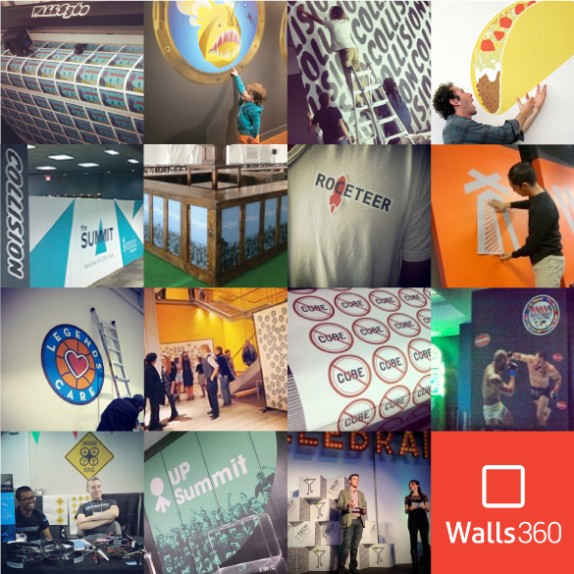 Walls360 On-Demand Promotional Graphics: Custom Project Photos