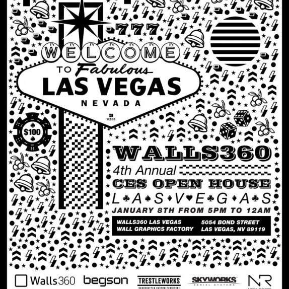 Walls360 Open House #CES2015