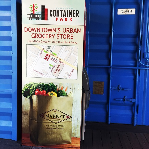 Walls360 Custom Wall Graphics for the Downtown Container Park in Las Vegas #ContainerPark #DTLV
