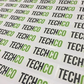 Walls360 custom wall graphics for Tech.Co at #SXSW2016