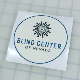 Custom wall graphics for the Blind Center of Nevada #blindcenterofnv
