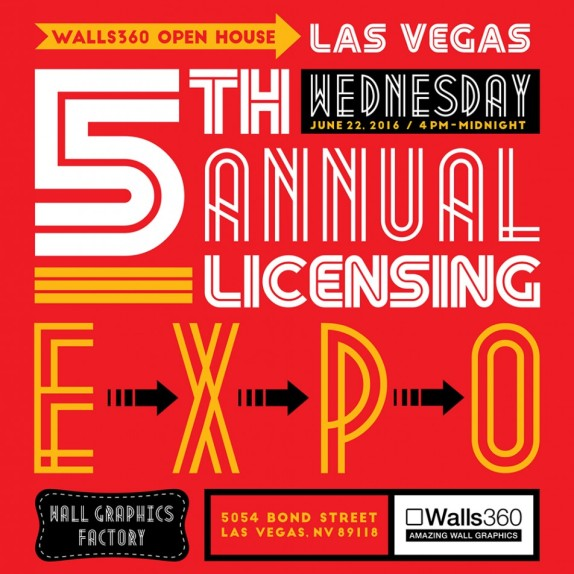 Walls360 Open House #LICENSING16