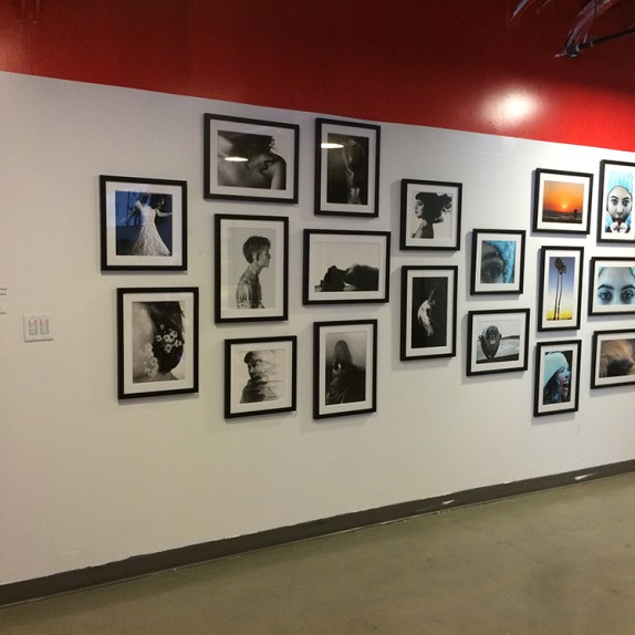 Custom wall graphics for the Las Vegas Academy of the Arts exhibition at Zappos #ZapposArt #ZapposCulture