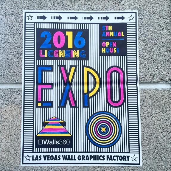 Walls360 Las Vegas 2016 Open House #LicensingExpo #Licensing16