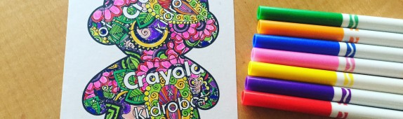 Walls360 custom COLORING wall graphics for Crayola x Kidrobot at #LicensingExpo16 #LasVegas