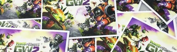 Walls360 custom Garden Warfare 2 mini wall graphics for Geek Fuel #PvZ #GW2 #GeekFuel
