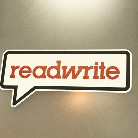 Walls360 custom wall graphics for ReadWrite at #CES2017 #RWConnect