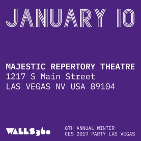 AMERICAN SPRING ART SHOW at the MAJESTIC REPERTORY THEATRE  #CES2019 #MajesticRepertoryTheatre #DegenerateArtShow
