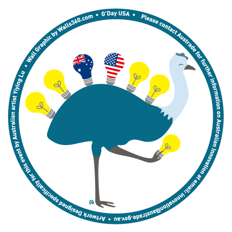 Yiying Lu's Emu Badge Design