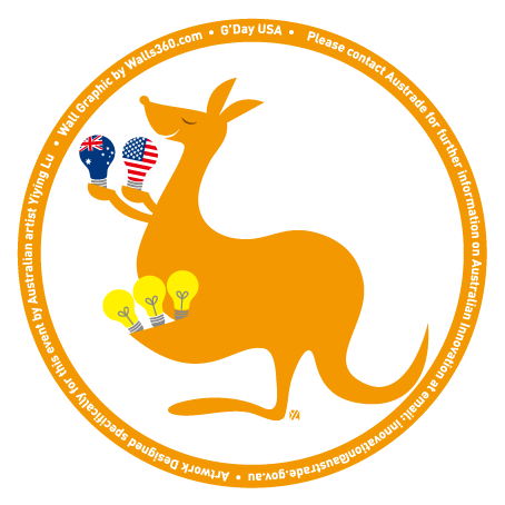 Yiying Lu's Kangaroo Badge Design